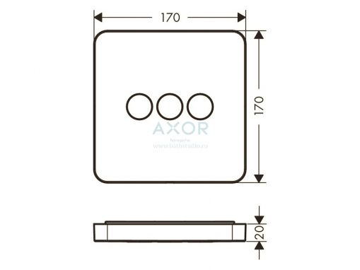 Axor ShowerSelect 36773000