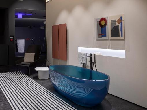 Ванна Antonio Lupi Reflex Cristalmood