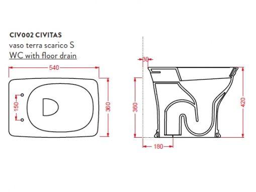 ArtCeram Civitas CIV002