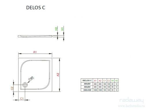 Radaway Delos C