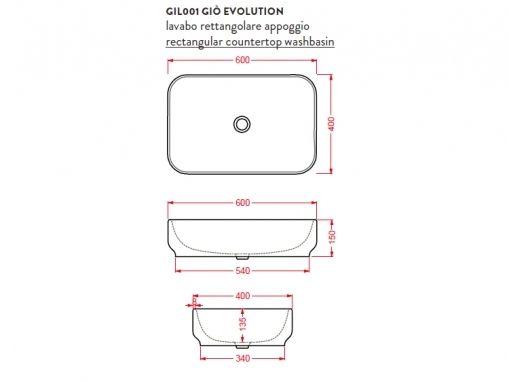 ArtCeram Gio Evolution GIL001