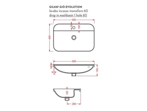 ArtCeram Gio Evolution GIL007