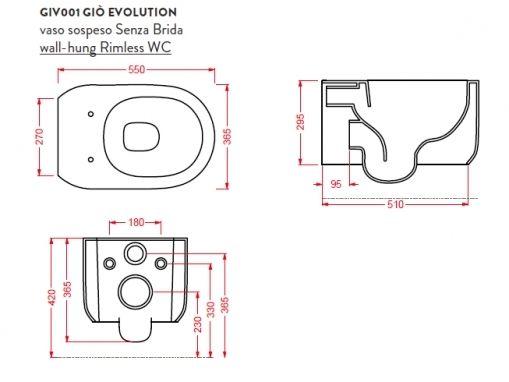 ArtCeram Gio Evolution GIV001
