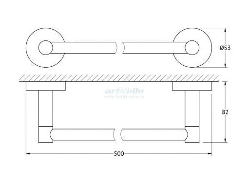 Artwelle Harmony HAR 027 полотенцедержатель