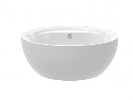 Круглая акриловая ванна Knief Club d160, ванна-чаша