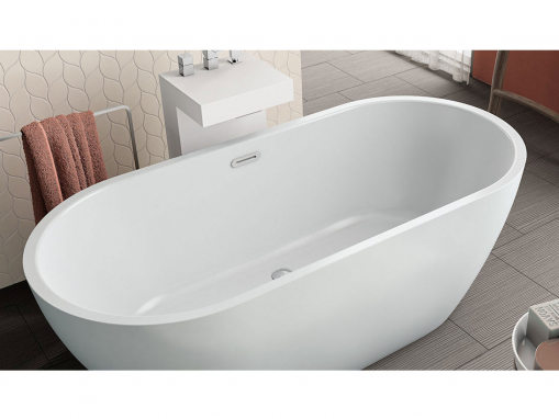 Акриловая ванна Kolpa san Dalia FS 170x80, белая