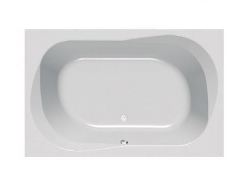 Большая акриловая ванна Kolpa san Adam&Eva 195х125