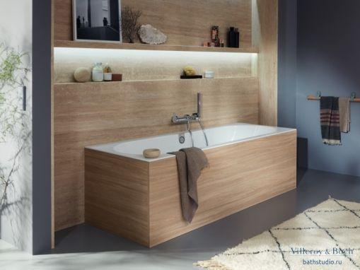 Квариловая ванна Villeroy&Boch Oberon 2.0 170x75