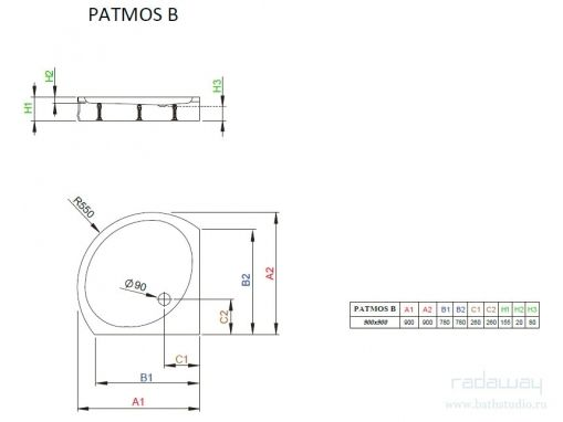 Radaway Patmos B