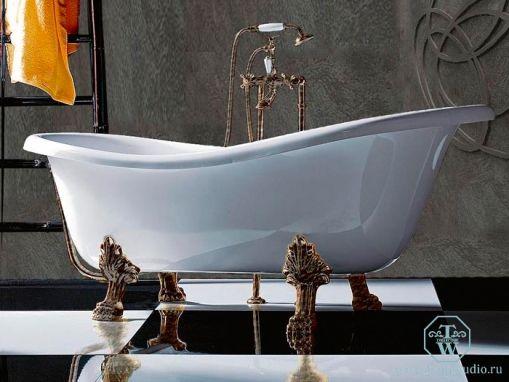 Ванна Tiffany World TW176 bi/br
