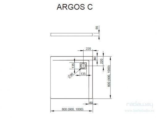 Radaway Argos C