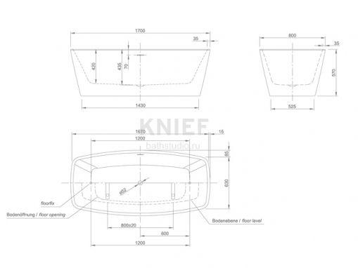 Knief Cube 0100-284