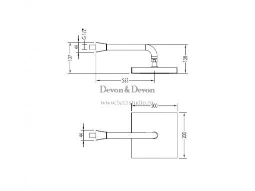 Devon Time 2TIME240, размеры