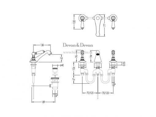 Devon Dandy MARF46, размеры