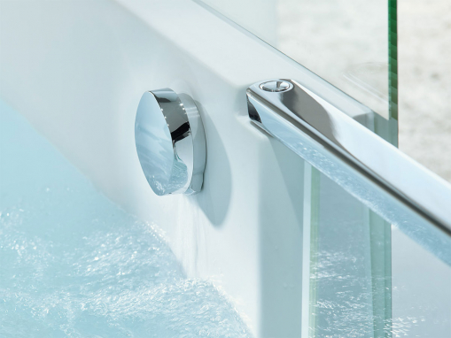 Ванна Shower + Bath 700403 с зеркалом, душевая кабина с ванной