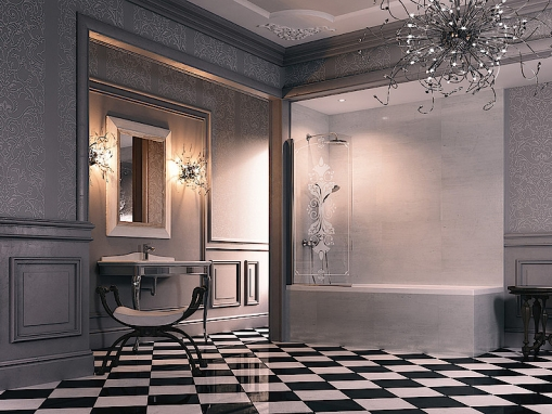 Шторка на ванну Huppe Design Victorian 75