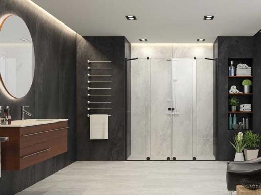 Раздвижная дверь Xtensa XT100 Black