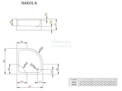 Radaway Naxos A