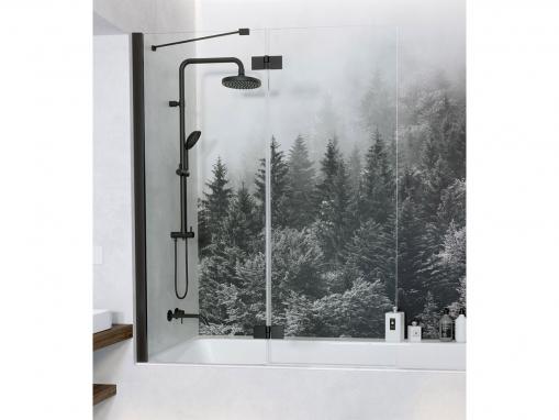 Шторка для ванны Radaway Essenza New Black PND II 120