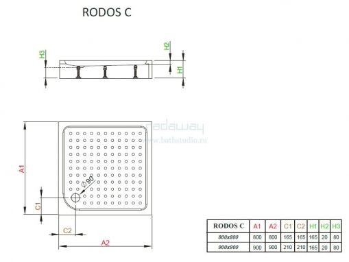 Radaway Rodos C