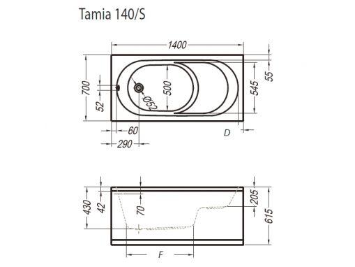 Kolpa-san Tamia 140-S