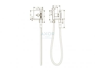 Душ Axor ShowerCollection 10651000