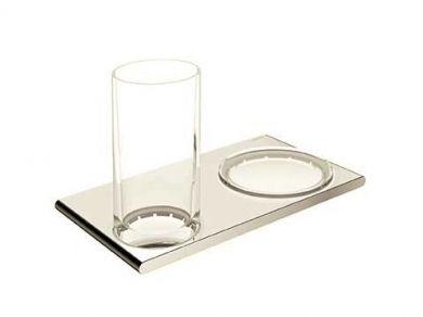 Мыльница и стакан Keuco Edition 400 11556