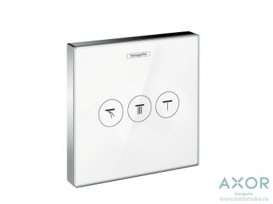 3 вентиля Hansgrohe ShowerSelect 15736400