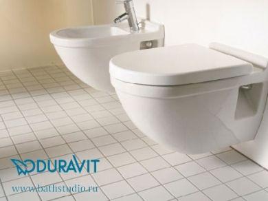Унитаз подвесной Duravit Starck 3 220009