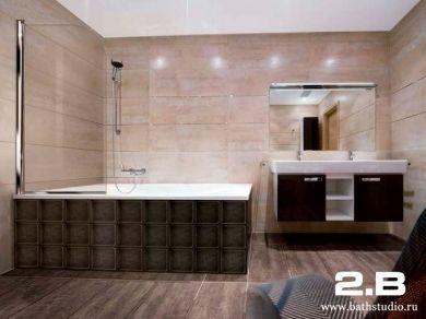 Шторка на ванну 2B IBIS 85см