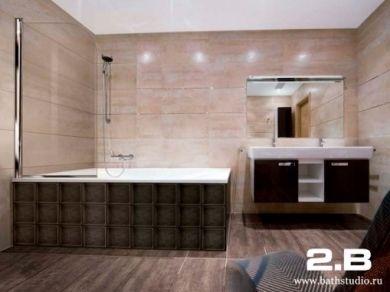 Шторка для ванны 2B IBIS 85см