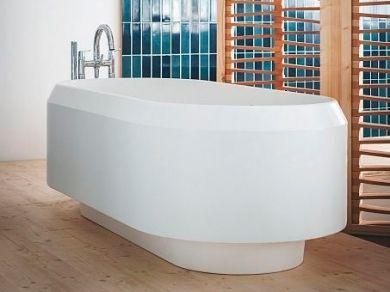 Овальная ванна Agape Lariana AVAS1080, искусственный камень 168x77