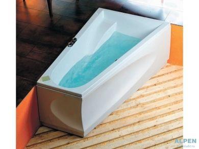 Асимметричная акриловая ванна Alpen Chiquita 170х100