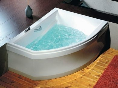 Асимметричная акриловая ванна Alpen Tandem 170х130