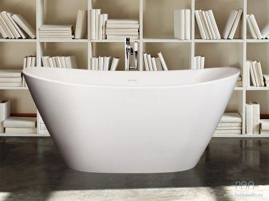 Овальная отдельностоящая ванна PAA Amore SILK 160х85