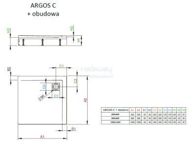 Radaway Argos C с панелями