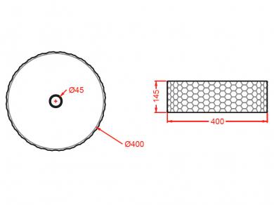 Раковина ArtCeram Esagono OSL013