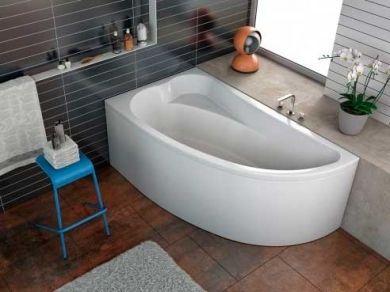Асимметричная акриловая ванна Kolpa San Calando 150x85