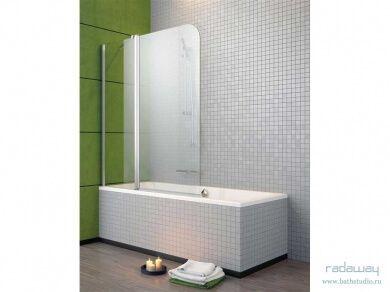 Radaway EOS II PND Шторка для ванны 130х152см