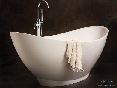 Большая овальная ванна PAA Felice SILK 195х83