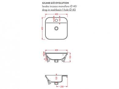 ArtCeram Gio Evolution GIL008