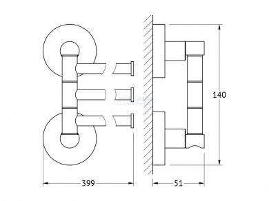 Artwelle Harmony HAR 024 полотенцедержатель