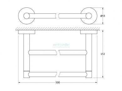 Artwelle Harmony HAR 030 полотенцедержатель