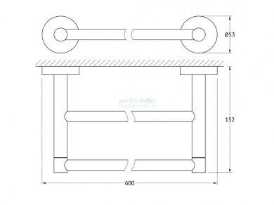 Artwelle Harmony HAR 031 полотенцедержатель