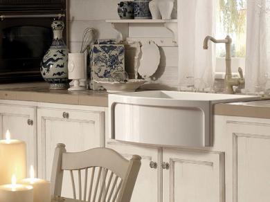 Кухонная мойка Kerasan Hannah Devon 75,8x53x25,4см