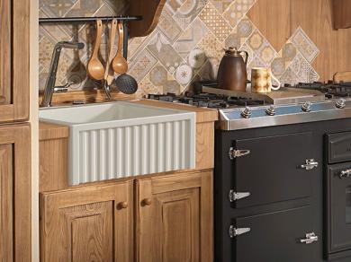 Кухонная мойка Kerasan Hannah Hampshire 60x47x22см