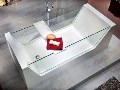 Стеклянная ванна Knief Look 180х80