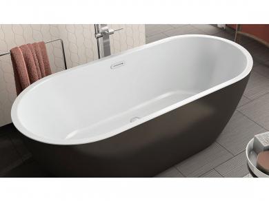 Акриловая ванна Kolpa san Dalia FS 170x80, черная