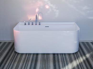 Пристенная ванна Laufen Sonar 160х82