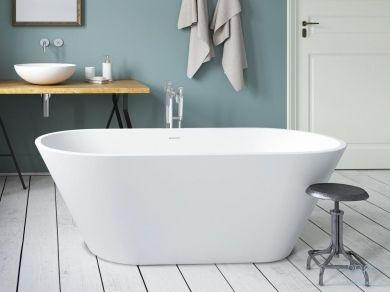 Отдельностоящая овальная ванна PAA Nudo SILK 166х72см